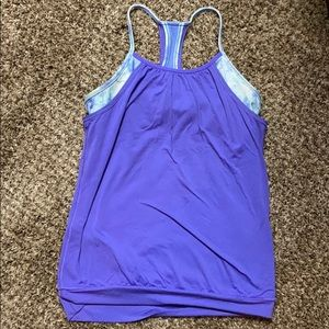 Ivivva tank with built in bra